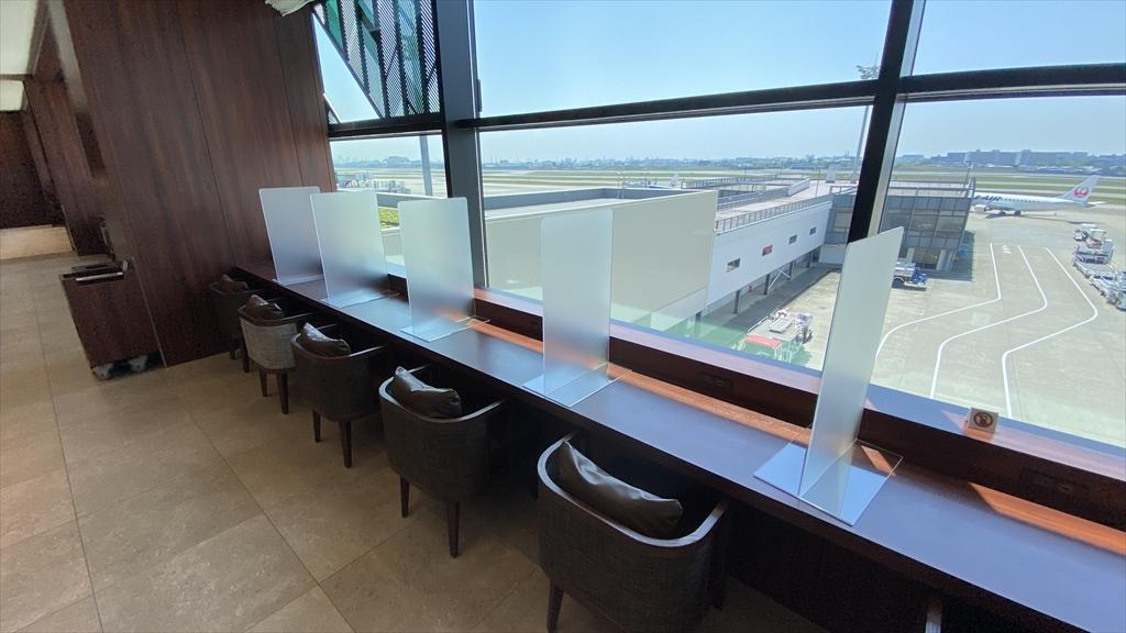 伊丹空港 JAL DIAMOND PREMIER LOUNGE 21年4月訪問