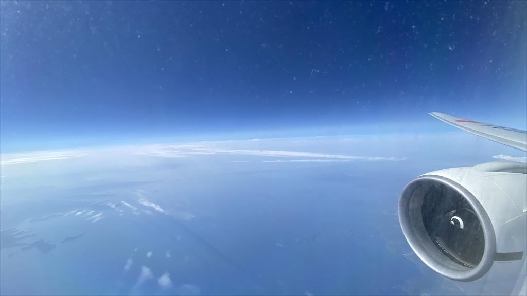 ボーイングB777-200ER0型機 JL2087 伊丹~沖縄(那覇) クラスJ 搭乗記 21APR21