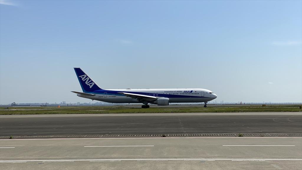 NH719 24APR21 羽田~大館能代 普通席