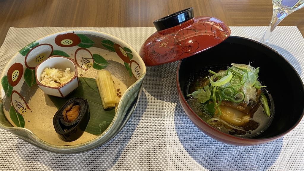 <和食 ~ 美味しいものをちょっとずつ> 季節の八寸盛り合わせ