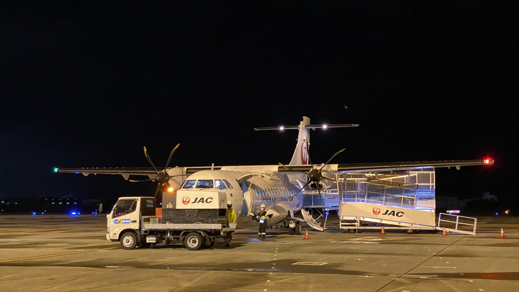 ATR42-600型機 JL3687 鹿児島~松山 普通席 搭乗記 12MAY21