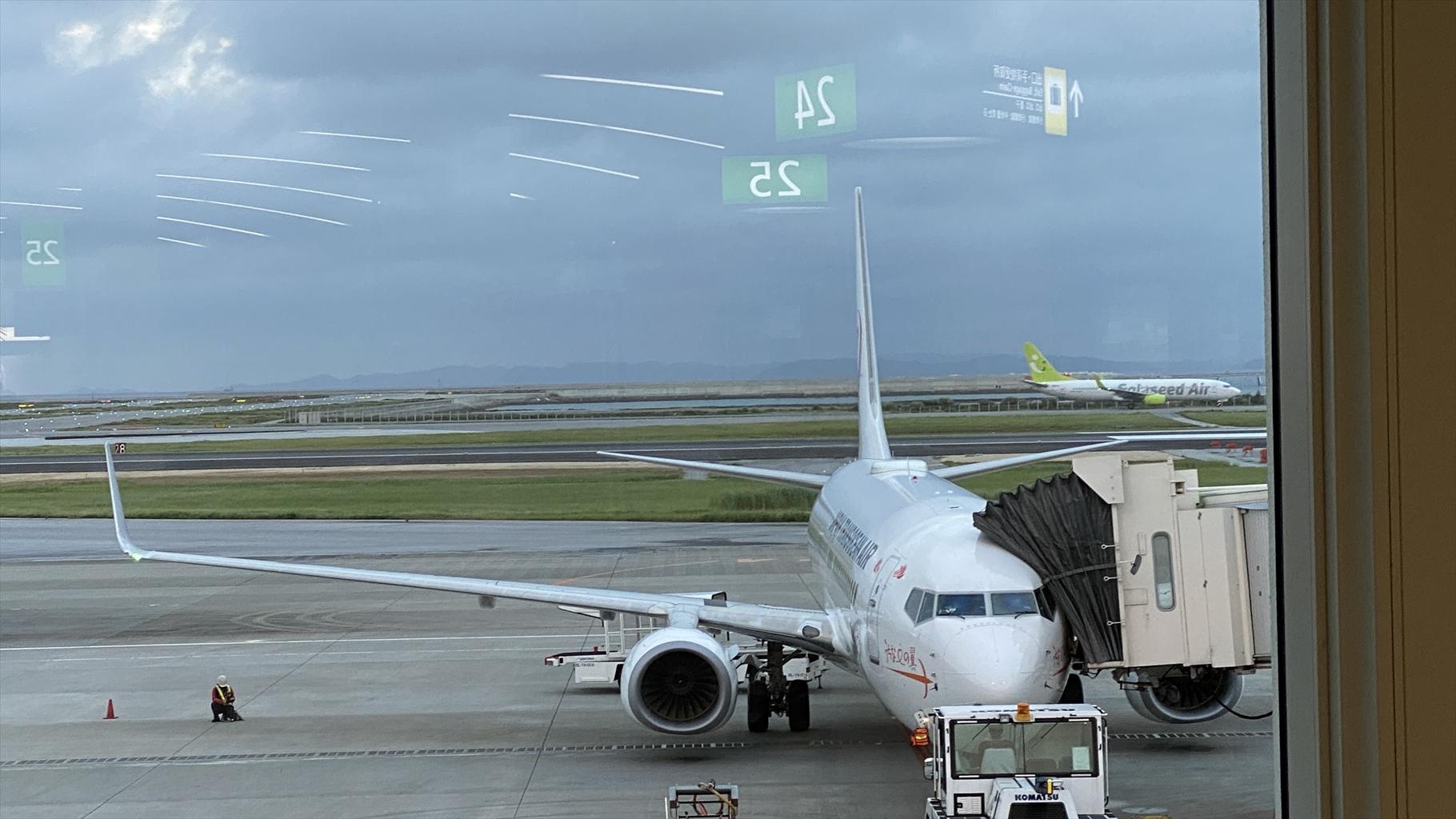 ボーイングB737-800型機 NU046 沖縄(那覇)~中部(名古屋) クラスJ搭乗記 01JUN21