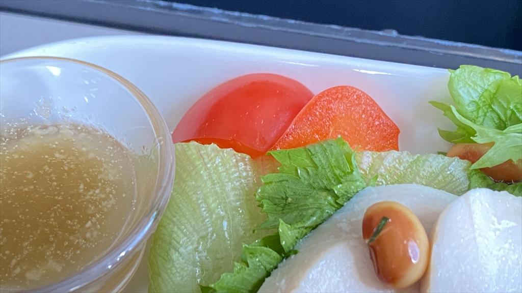 JAL JL919 羽田~沖縄(那覇) ファーストクラス機内食 21JUN21