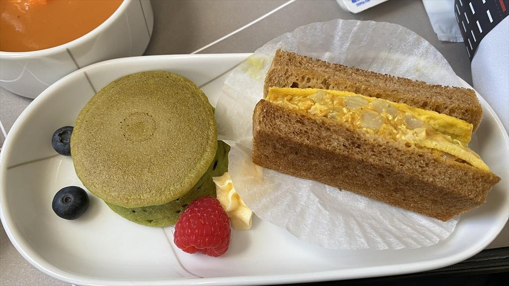 07JUL21 JL503 羽田~札幌(新千歳) ファーストクラス 機内食