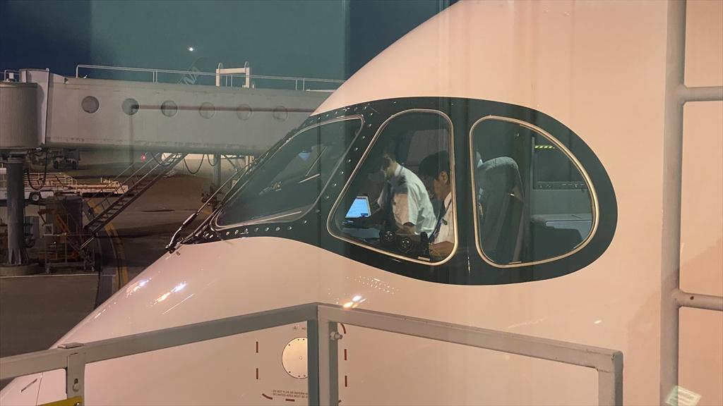 エアバスA350-900型機 JL526 札幌(新千歳)~羽田 ファーストクラス 搭乗記 08JUL21