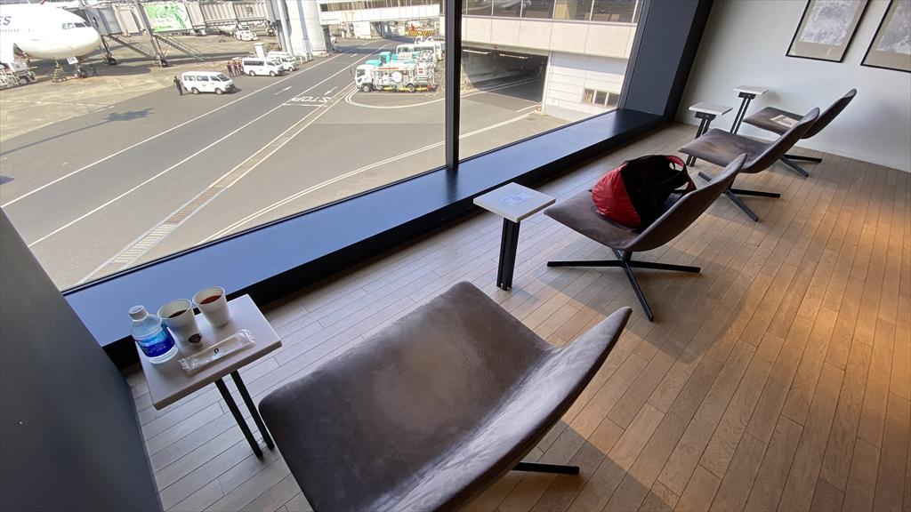 羽田空港 第一ターミナル 北ウィング POWER LOUNGE 21年08月訪問