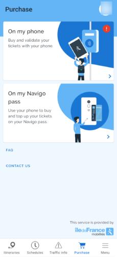 NAVIGO EASY アプリ