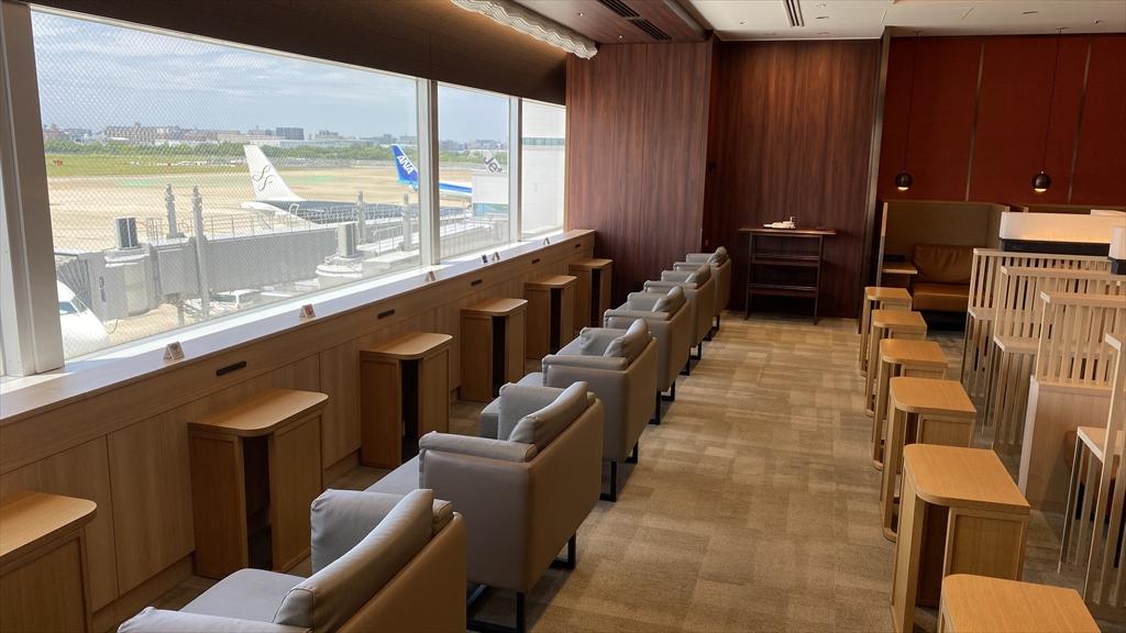 福岡空港 JAL DIAMOND PREMIER LOUNGE 21年08月訪問