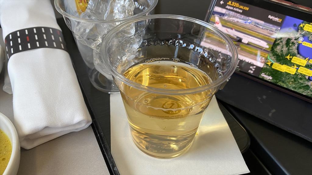 03AUG21 JL320 福岡~羽田 ファーストクラス 機内食