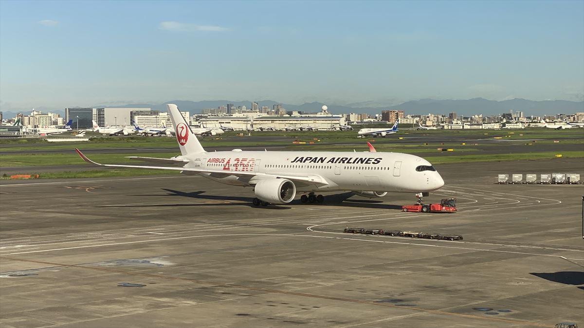 JL507 20AUG21 羽田~札幌(新千歳) ファーストクラス