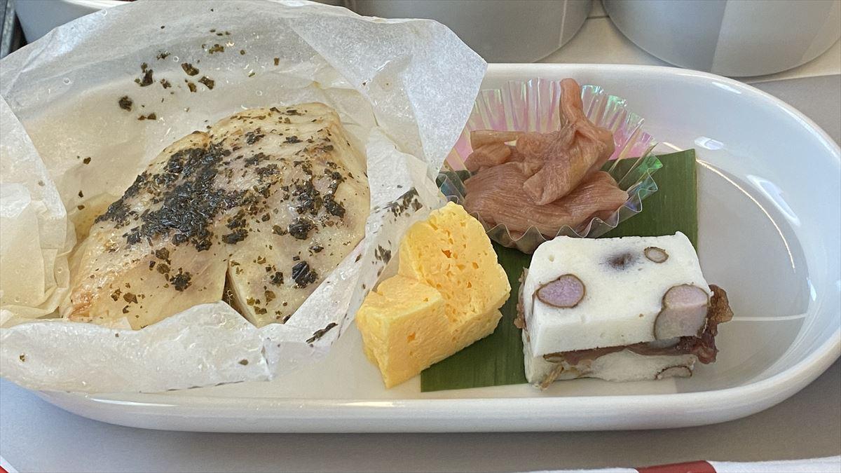 20AUG21 JL507 羽田~札幌(新千歳) ファーストクラス 機内食