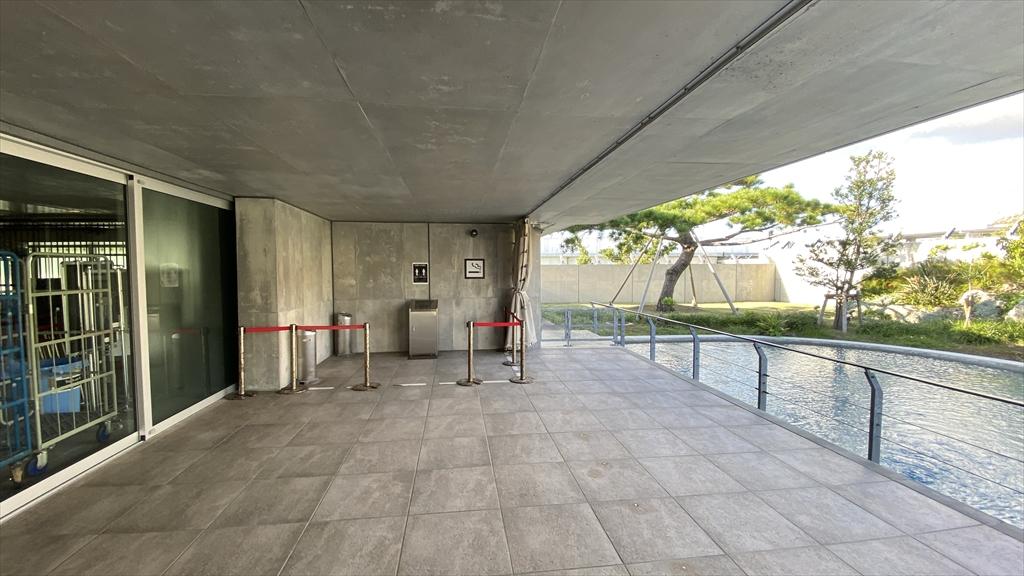 下地島空港 制限区域内