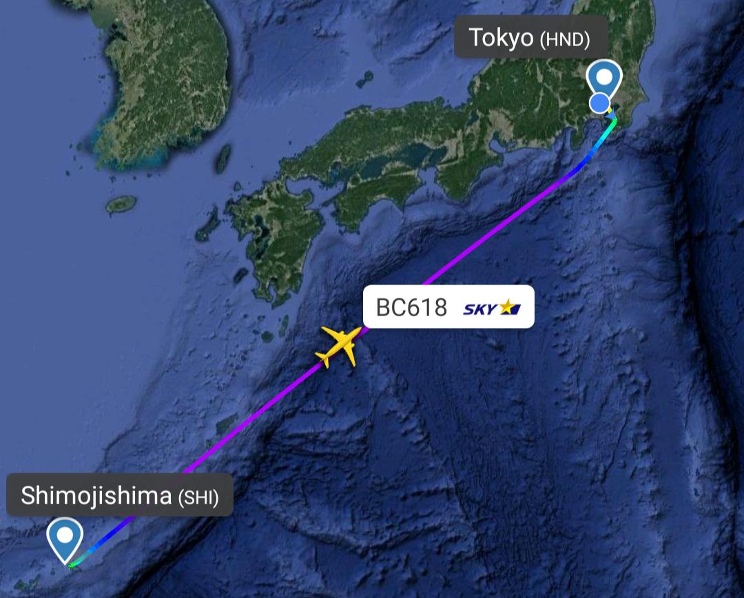 ボーイングB737-800型機 BD618 下地島(宮古)~羽田 普通席 搭乗記 27AUG21 ピカチュウジェット