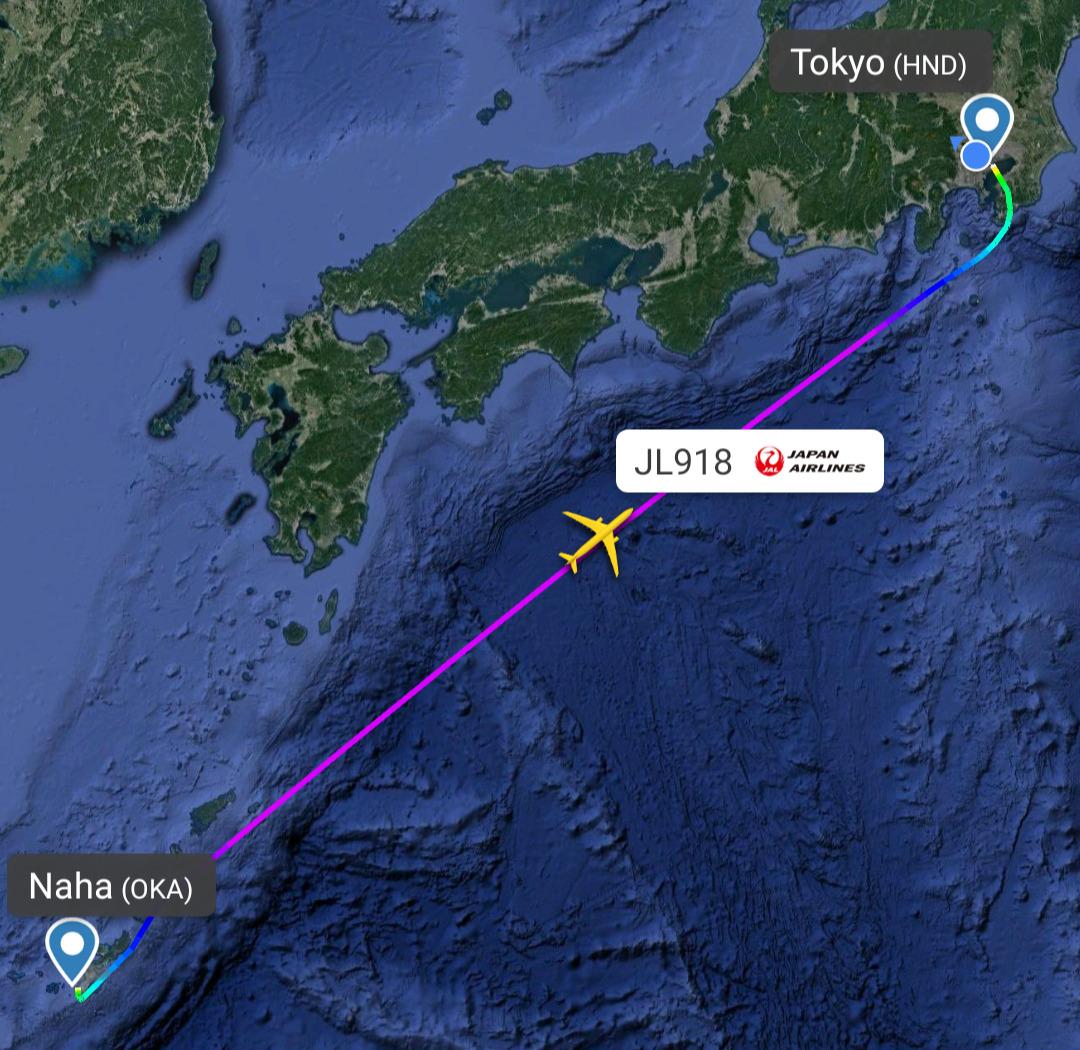 エアバスA350-900型機 JL918 沖縄(那覇)~羽田 ファーストクラス搭乗記 15SEP21
